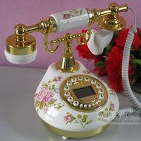 Chinese Style Fashion Good Decoration Ceramic Home Using fashion callerid rustic vintage fashion antique telephone