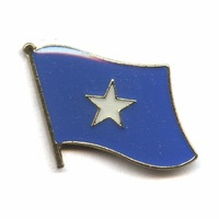 Somalia      Free shipping Croatia      16mm flag lapel pins  (350pc/lot)