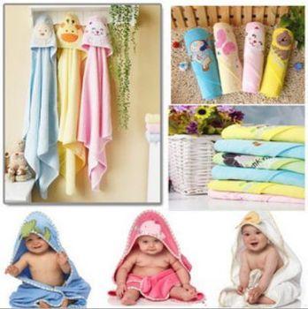 2014  New 100% cotton 75X75CM baby Newborn infants hand face towels and blanket /kids bedding set/child bath towel bathrobe
