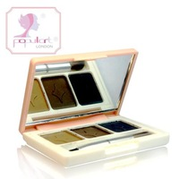 Make-up style box eyebrow shadow powder grey three-color waterproof 3g xiu yan
