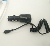 High Quality Brand New 5V 1A Micro USB Car Charger For Samsung Galaxy S4 i9500 Free shipping DHL UPS EMS DS-13