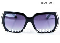 2013 New Designer Sunglasses Womens Fashion Sun Glasses Square Frame UV400 +Mix Colors+ 20pcs/lot+Free Shipment