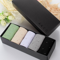 Gift box set socks male cotton socks autumn cotton socks gift socks hydroscopic antiperspirant male socks commercial socks