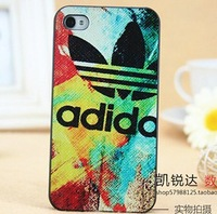 New arrival free shipping Colorful Luxury With Case Cover for iphone 4 4s , cell phone Scrub case for iPhone 4 4G