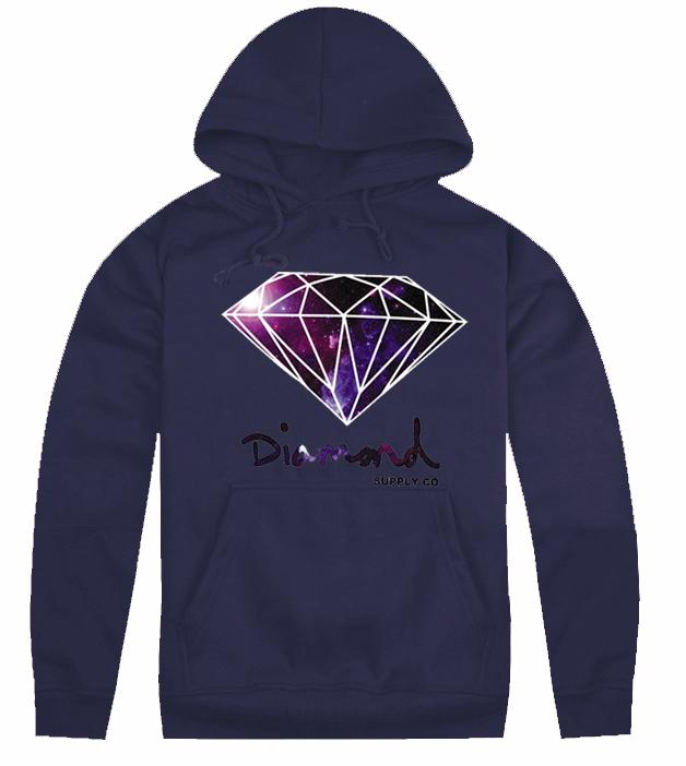 Men Cheap Diamond Brand Free Shipping Men Women Discount diamond supply co new arrival cheapest hoodies Hoody-097(China (Mainland))