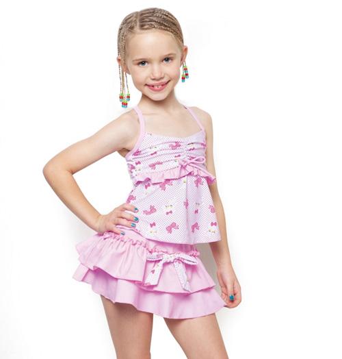 Fashion children 39 s cartoon swimsuit child swimsuit girls swimsuit