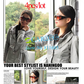 4pcs/lot HD Vision Driving Wrap Around Sunglasses Glasses Protect Your Eyes From Harmful UV Rays And Sun Glare 792