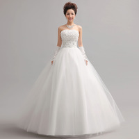 ON Sale 2013 sweet princess tube top wedding dress bride flower strap  hot