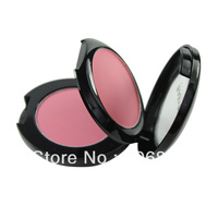 12 Style Double Layer Miniature Shimmer makeup Blush Cheeks Mirror Brush Blusher Powder LKH42S-1/12