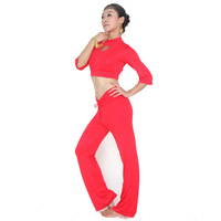 Quality modal belly dance set yoga belly dance clothes dance pad