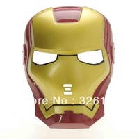 Iron Man Mask with Blue Lite-Up Eyes Halloween Toys Mask