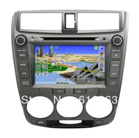 Car Auto Multimedia DVD Player with car gps Navigation, BT,IPOD,TV and IPHONE menu for Honda CITY 1.5 OLD