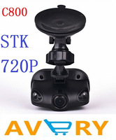 "New Arrivals car dvr C800 1.5"" Car DVR Camera Recorder Recorder STK 1280*720P Car black box, Car video record free shipping"