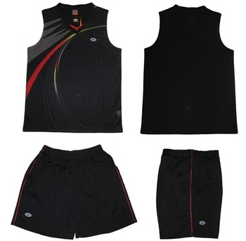2013 man paintless basketball jersey blank short-sleeve training service basketball clothes set 2509