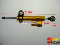 CNC Steering Damper Stabilizer For Yamaha YZF R1 R6 FZ6 FZ1 FAZER XJR FJR 1300 O