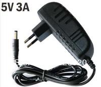 Free Shipping 10pcs/lot 5V 3A EU AU UK US Plug Power supply adapter
