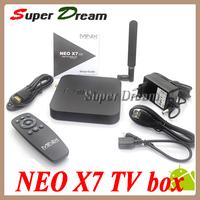 (Updated by NEO X5)MINIX NEO X7 Android TV Box RK3188 Quad Core Mini PC RAM 2G/16G USB RJ45 OTG SD Card Optical XBMC TV Receiver