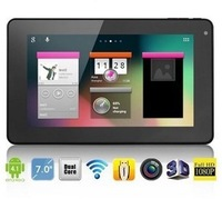 Newst 7 inch PiPo S1s S1 Tablet PC Andriod 4.2 RK3066 Dual Core 1.6GHz 1GB DDR3 8GB HDD Capacitive Webcam Wifi HDMI