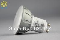 Big Eye color box 7W GU10 socket LED spotlight LED light (warm yellow)