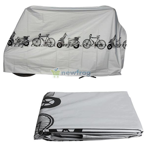 Велосипед мотоцикл дождь пыль водонепроницаемые скутер протектор серый S7NF