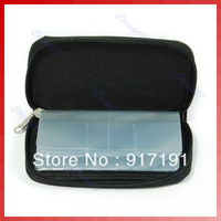 1PC Black Nylon Carrying Case Wallet Bag F Memory Card SD CF MS Selling