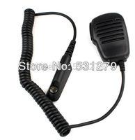 5pcs/lot Handheld Speaker Mic for Motorola Radio GP328/340 PRO Walkie talkie two way CB Ham Radios J0016A