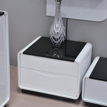 modern minimalist fashion paint Ikea bedside cabinet side cabinet two bucket