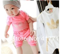 free shipping 2013 cheaper and popular retail summer kids cotton t shirt children pure color T-shirt boys sport top