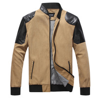 Men's clothing autumn and winter male casual outerwear leather jacket a2316a