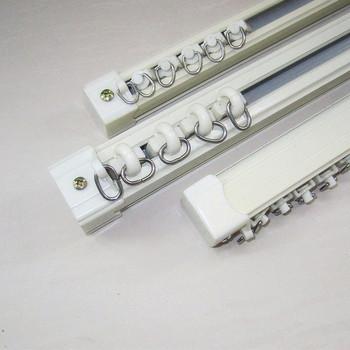 Curtain rod rome rod aluminum alloy curtain slide guide rail