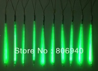 LED-SMD-Meteor rain light 50CM 12V 72LED Tube 3528 SMD Snowfall Meteor Rain Outdoor Light Green   10pcs/1set