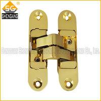 gold door hinge concealed hinge 3d door hinge 180 hidden hinge for wood door new product 2013