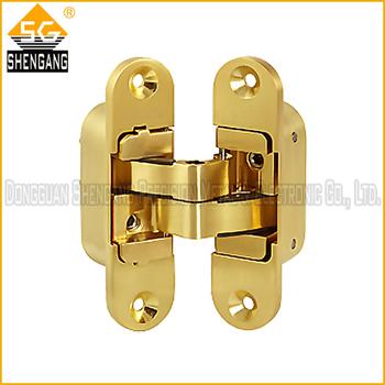 concealed hinge heavy duty for wooden door three way hidden hinge