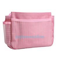 Lady Storage Bag Organizer Insert Nylon Multi-function Pouch Portable  #1JT