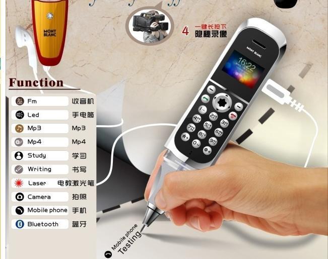 Шариковая ручка диктофон мобильные телефоны оригинальные
