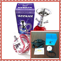 Free shipping!!! Electronic carbon+Small hookah 26cm