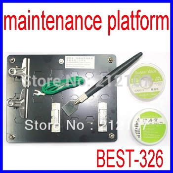 BEST-326 Universal Mobile Phone Hardware Maintenance Platform 7 in 1 BGA Repair Station Kit