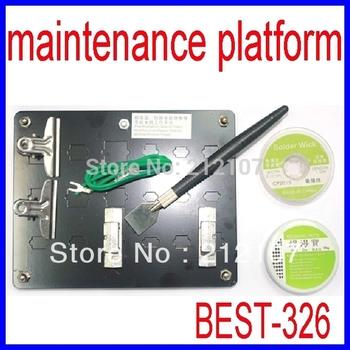 BEST-326 Universal Mobile Phone Hardware Maintenance Platform 7 in 1 BGA Repair Station Kit