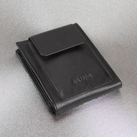 Fashionable design military leather wallet