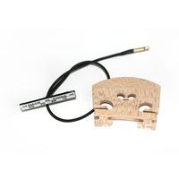 Maple Pickup bridge Piezo pickup w/Jack for 4/4 Electric Violin Durable