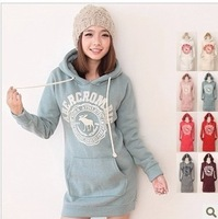 Free shipping  New Arrival Autumn and winter fashion pullovers Hoodies cotton keep warm Hoodie  7 color