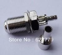 F female crimp connector for RG316 RG174