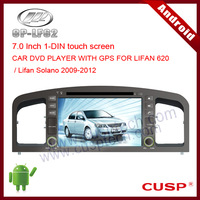 CP-LF62 2DIN touch screen android car dvd gps navigation video/radio/audio/bluetooth/3G/wifi/DVR/OBD for LIFAN 620 2009-2012