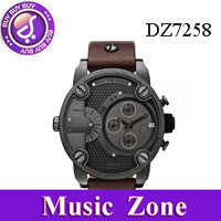 Xmas gift HK post Free shipping DZ7258 men's watch quartz Wristwatches with logo +original box