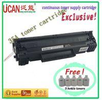 LJ P1005  toner cartridge, 12000 page (A4,5% Coverage), 5 bottles of toner (free),refillable cartridges