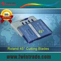10pcs one lot !!!  4000-4200N/mm2  RO45 Roland cutting plotter blade 45 degree roland plotter knife
