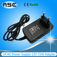 Free Shipping 12W LED DC12V Power Supply Adapter For LED Strip light