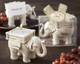 Wedding supplies technology candle wedding gift lucky elephant mousse gift