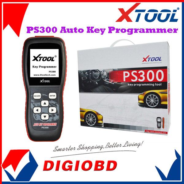 100% Original XTOOL PS300 Auto Key Programmer immobilizer units on vehicles PS 300 Car Key Programming same function as X100+(China (Mainland))