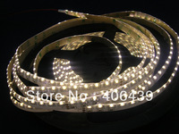 335 SMD LED Flexible Strips 120leds/m Warm White Waterproof IP65,5m per roll,8mm white PCB with 3M tape,DC12V input